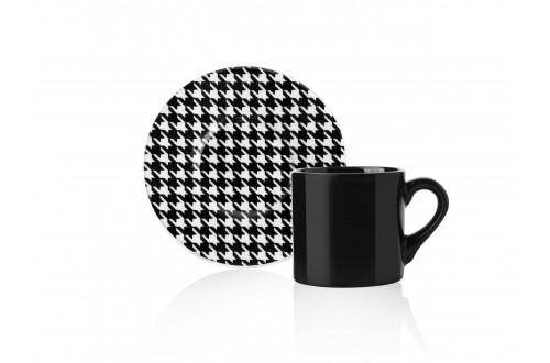 Eliz 6'lı Kahve Fincan Takımı