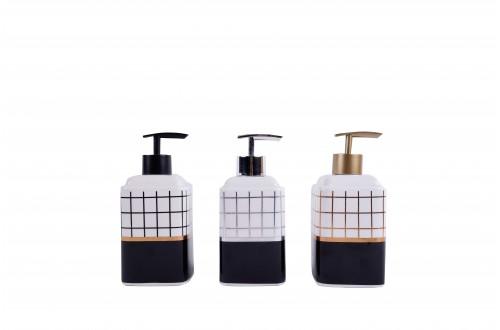 Desenli Porselen Sıvı Sabunluk