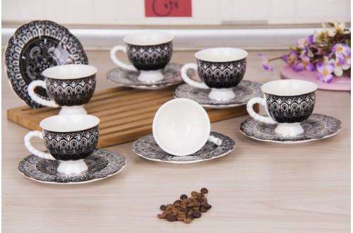 6Lı Kahve Fincan Takımı