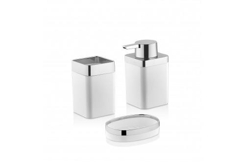 Beyaz 3'lü Banyo Seti