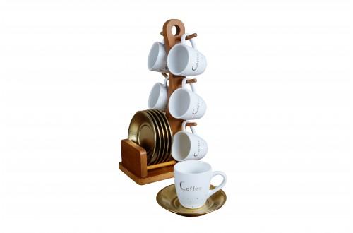 Gold Kahve Fincan Takımı